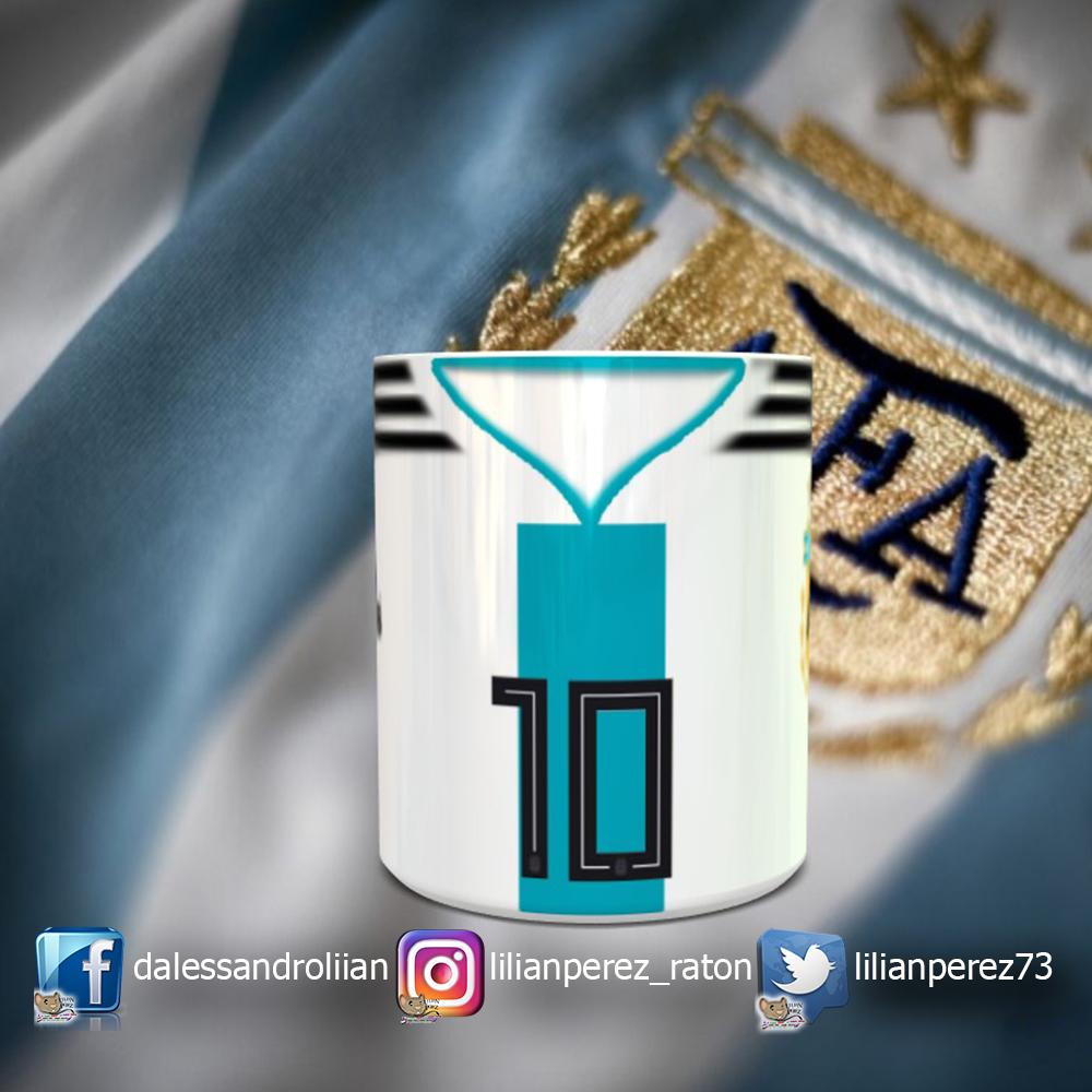 Taza Argentina Selección Principal